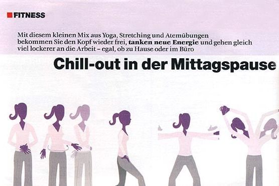 Chillout in der Mittagspause